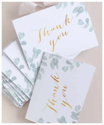 thank you cards for weddings