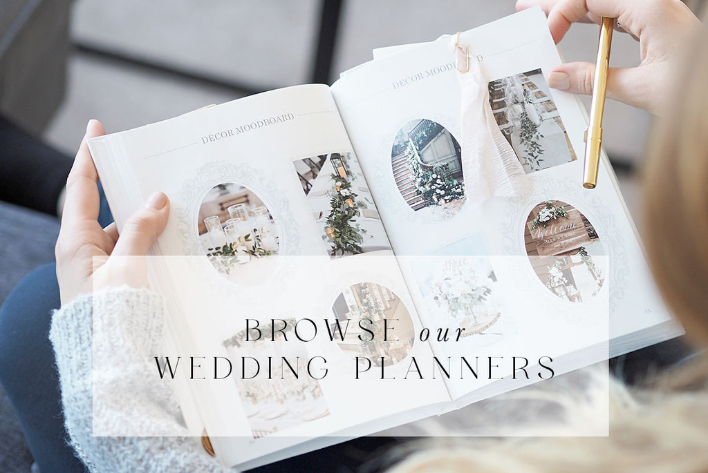 Shop our wedding planners