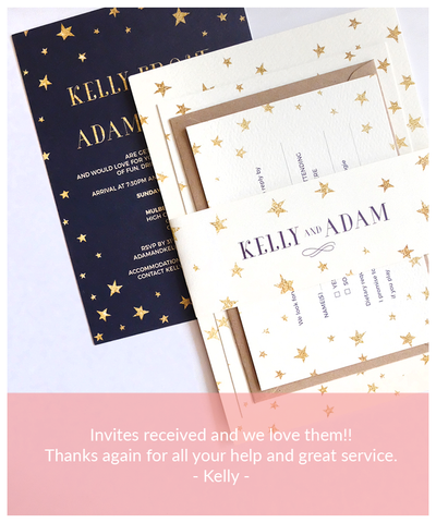 wedding invitation review