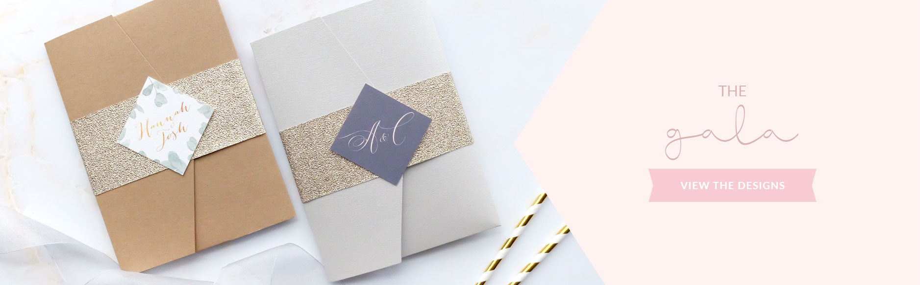 Wedding Invitation Packages.Wedding Invitation Packages Blush And Gold