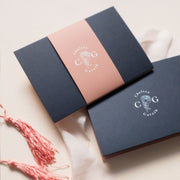 'Chelsea' Concertina Wedding Invitation Package