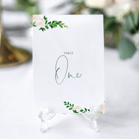 'Daisy' Table Numbers
