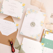 'Sorrento' Wedding Invitation