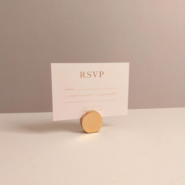 Stonewash RSVP Cards - The Luxe Collection *Foil*