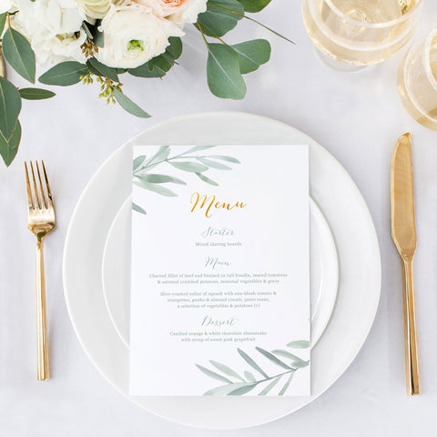 olive branches Italian wedding