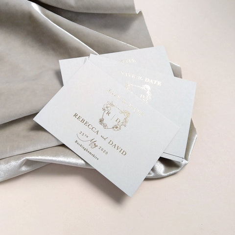 Mayfair Save the date - The Luxe Collection *Foil*