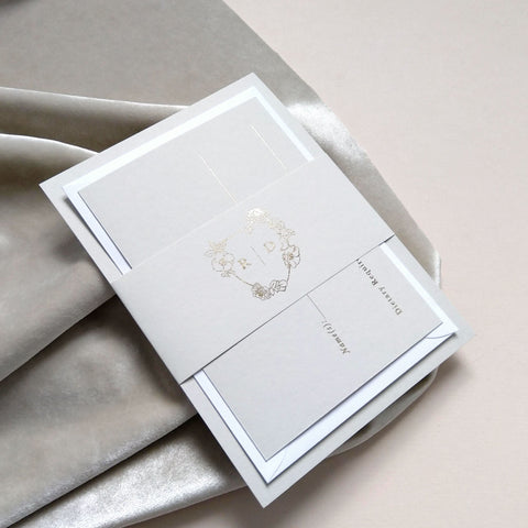 'Mayfair' Classic Invitation Package - The Luxe Collection *Foil*