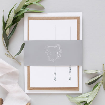'Mayfair' Classic Wedding Invitation Package