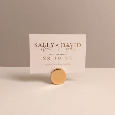 Stonewash Save the date - The Luxe Collection *Foil*