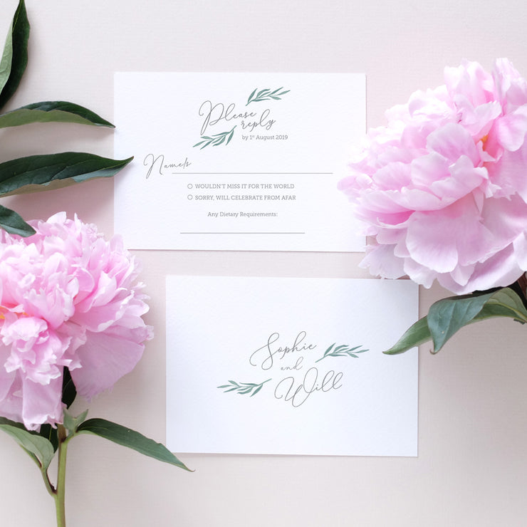 italian wedding invitation package