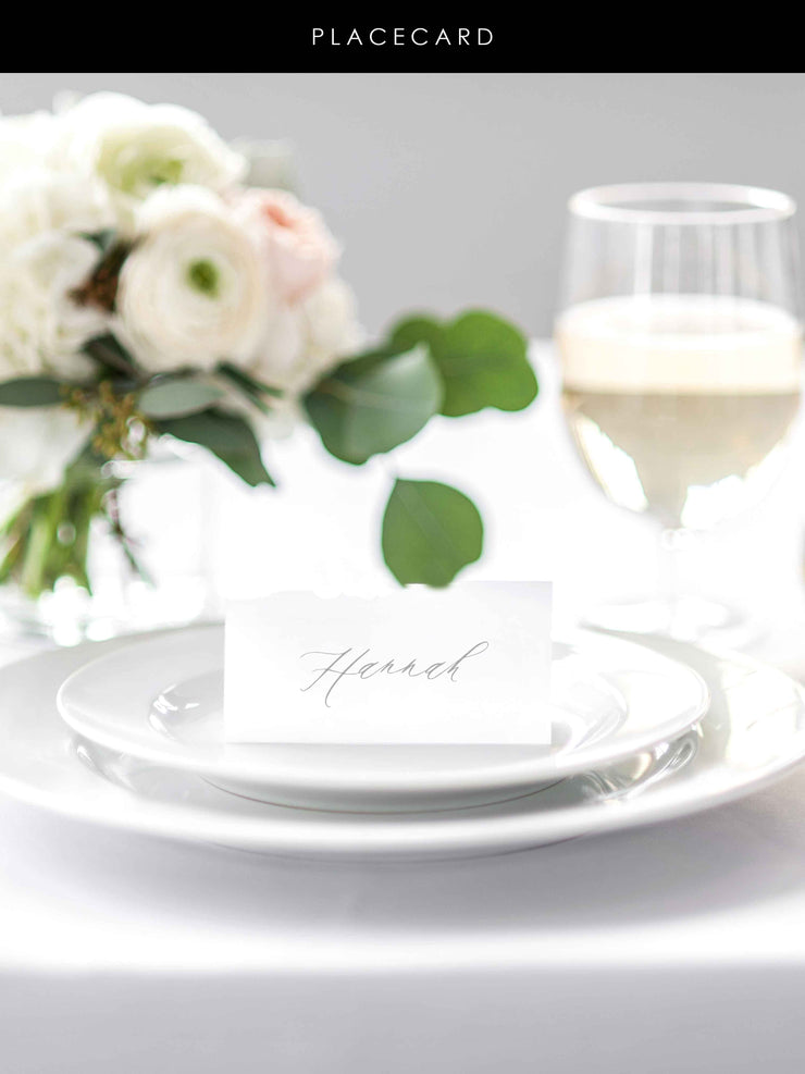 'Marseille' Place Cards
