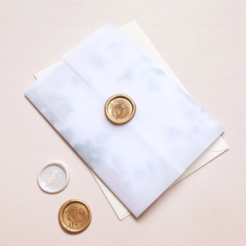 Wax Seal Eucalyptus Package - The Luxe Collection Foil