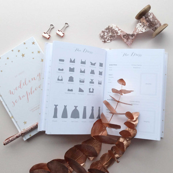 Starry Wedding planner book