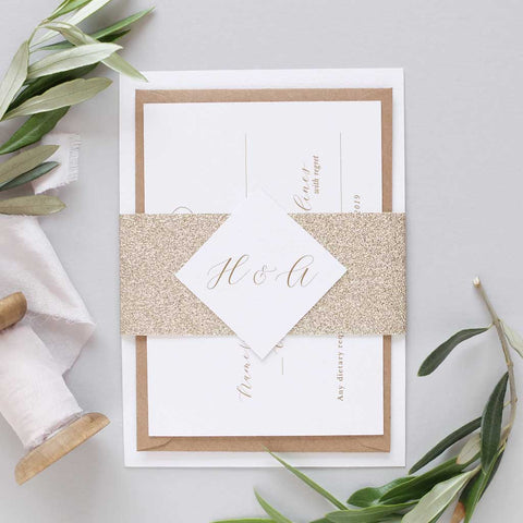 'Valentina' Debut Wedding Invitation Package