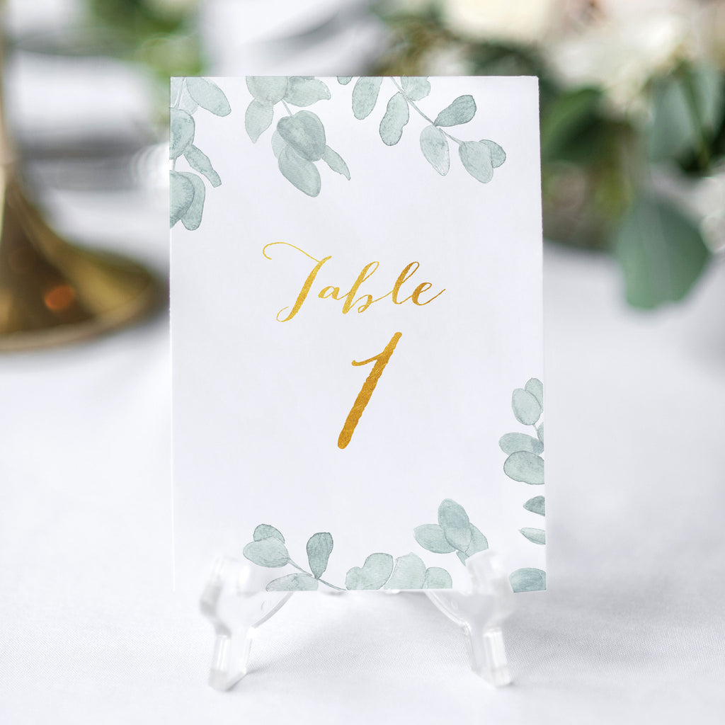 botanical table number