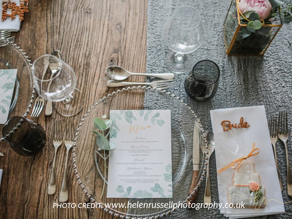 'Eucalyptus' Menu Card