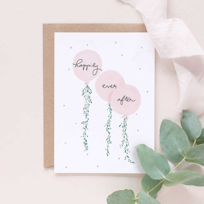 Happily Ever After - Happily Ever After Congratulations Card