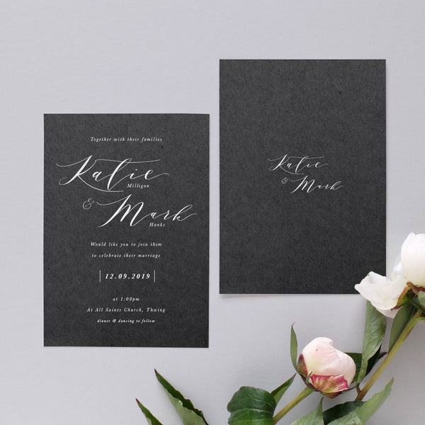 'Siren' Wedding Invitation