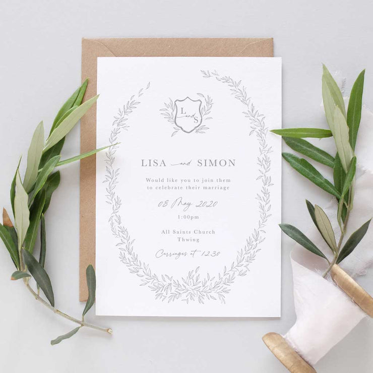 'Florence' Wedding Invitation