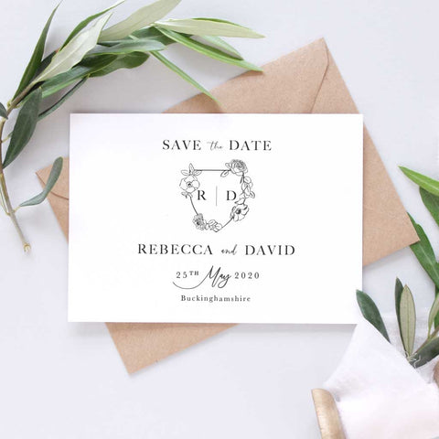 'Mayfair' Save the Date