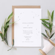 elegant evening invitation