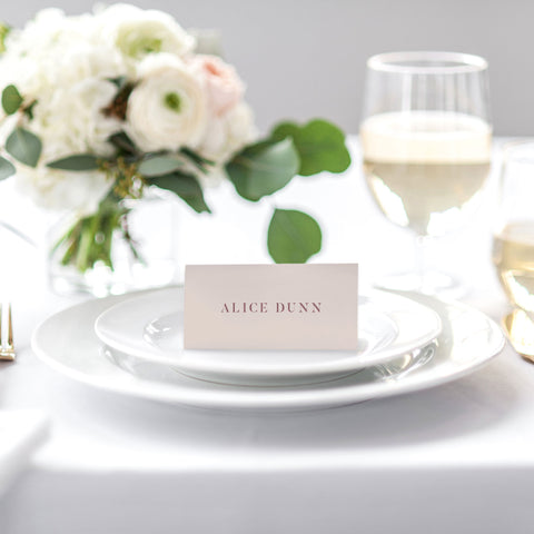 'Paris' Place Cards