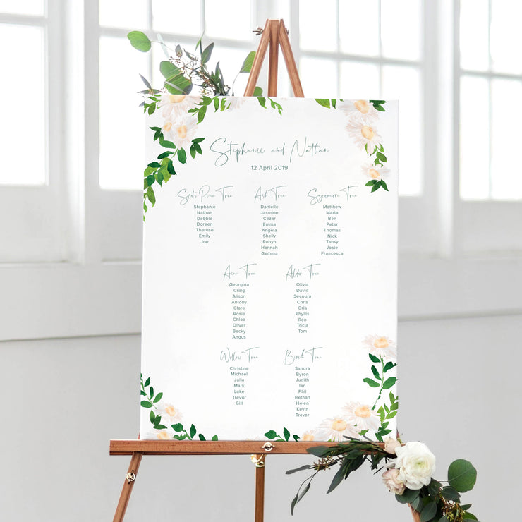table plan wedding