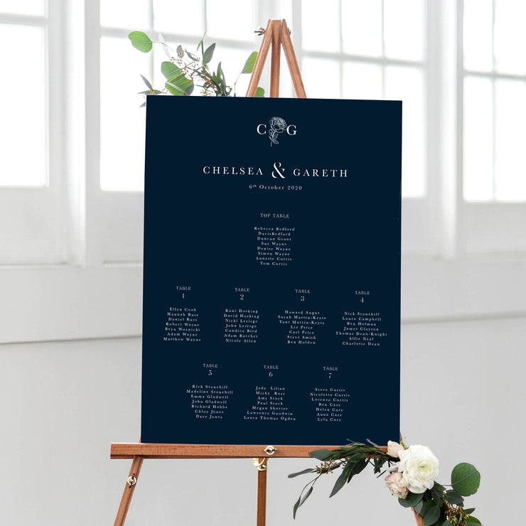'Chelsea' Table Plan