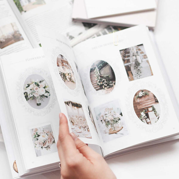 Luxury Eucalyptus Wedding planner book