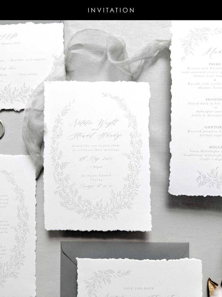 'Marseille' Wedding Invitation