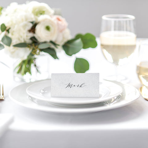 'Siren' Place Cards
