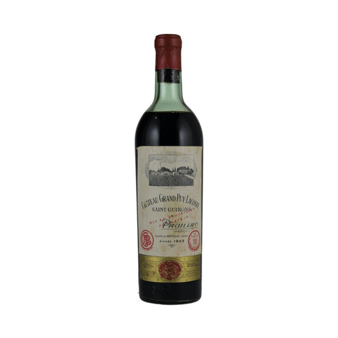 1943 Chateau Grand Puy Lacoste, France, 750 ml (Ullage: Low)