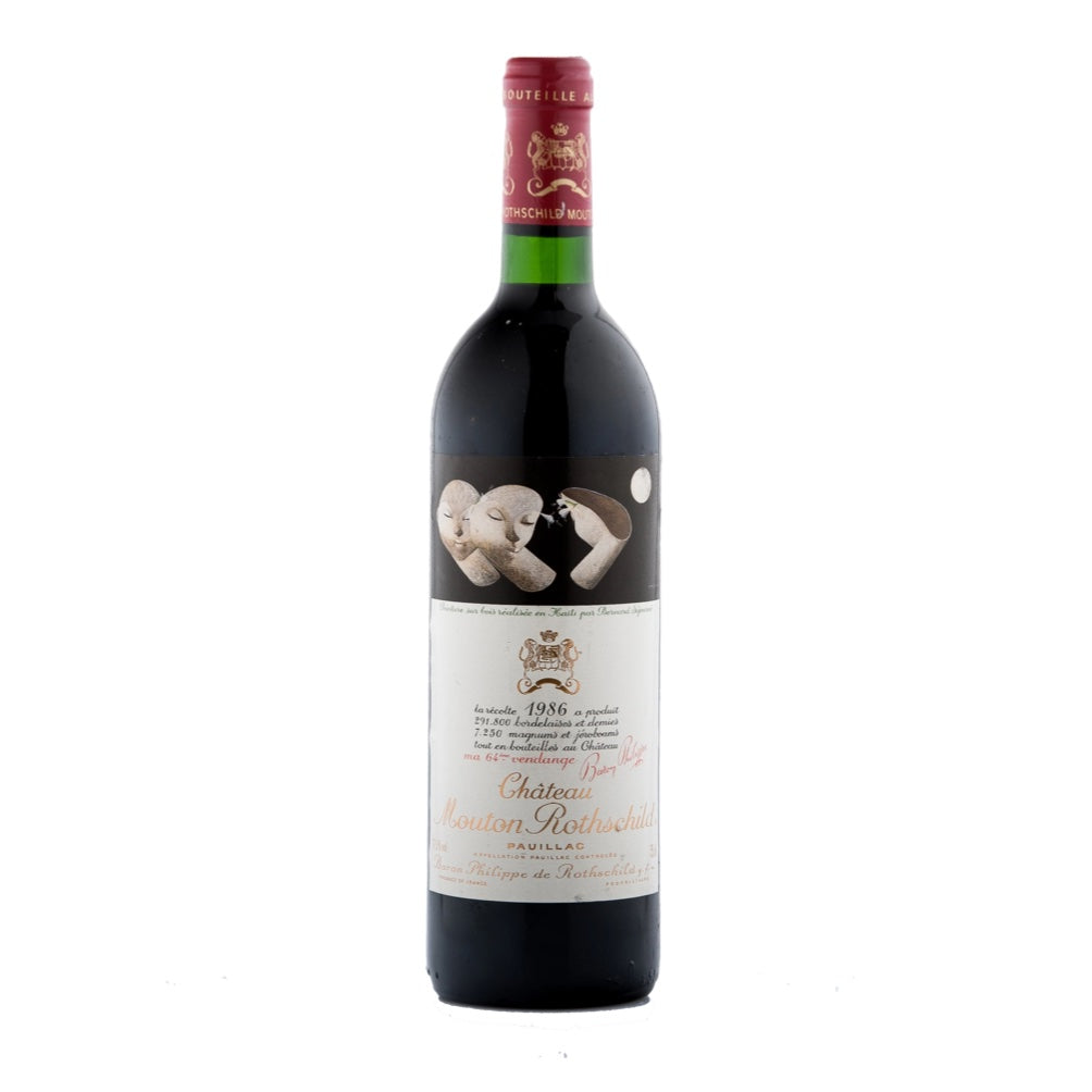 1986 Château Mouton Rothschild, France, 750 ml