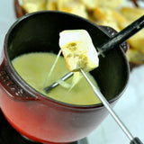 Fondue for Two with White Bread Cubes (450 gram per pack)