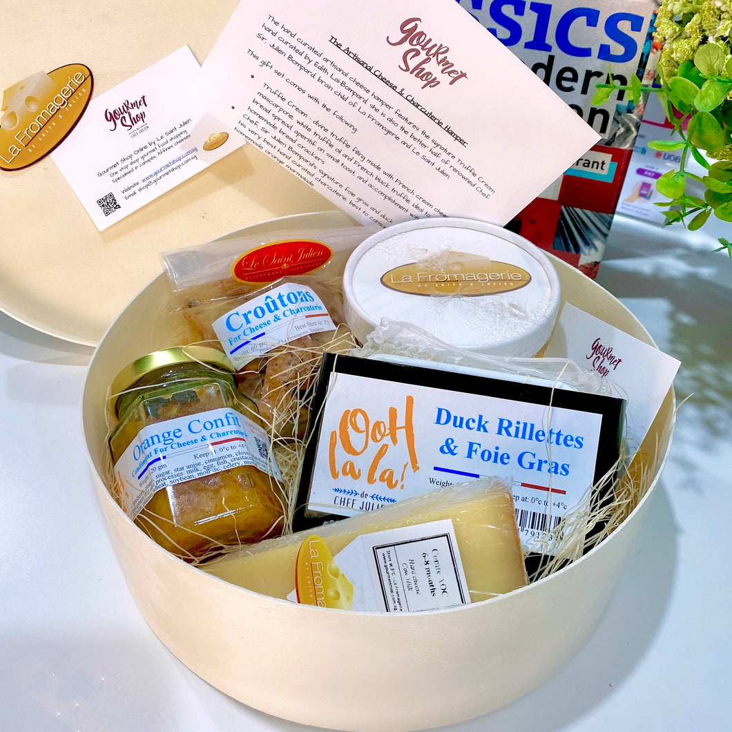 The Artisanal Truffle Cheese & Duck Rillette with Foie Gras Gift Set