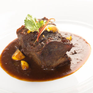 Braised Beef Cheek with Mushroom Medley (Prepare Hot / Chilled) - Ideal for 2 persons