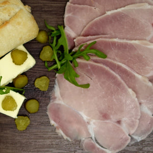 "French Ham ""Jambon Blanc"" 1 Kilo (Whole Piece), by Chef Julien Bompard"