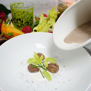 Chestnut Cream Soup with Braised Celery,  300 ml packet (Vegetarian)