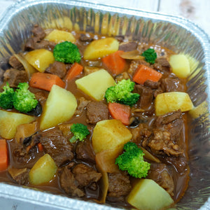 Beef Stew with Potato Medley Vegetable (Deliver Hot) - Ideal for 2 persons