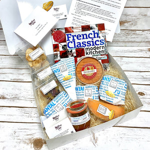 Deluxe Cheese Hamper with French Classic Cookbook by Chef, Sir Julien Bompard