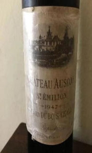 1947 Chateau Ausone, France, 750 ml (Low Shoulder)