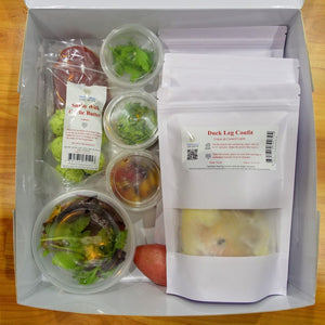 OoH la la! Dinner Box with Demo-Video | Escargot & Duck Leg Confit