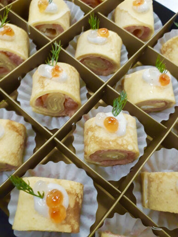 Savoury Canapé - Master Selection (12 pieces)