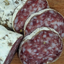 "Load image into Gallery viewer, Rosette Saucisson ""Large"" Dried Sausage - 100 gram"