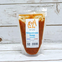 Load image into Gallery viewer, Minestrone Soup with Basil & Vegetables, 300 ml packet (Vegetarian)