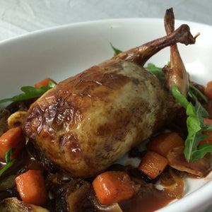 Roast Quail Stuffed with Mushroom - 1 piece