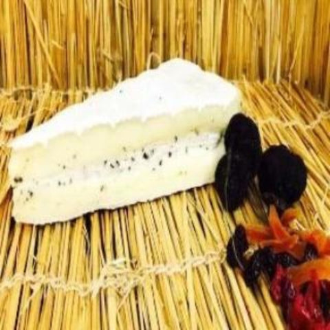 Brie Cheese with Truffle - 300gram (Handcrafted by Edith, the Cheese Master)