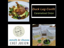 Load and play video in Gallery viewer, Video Demo of Escargot & Duck Leg Confit