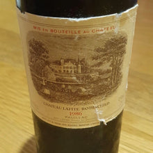 Load image into Gallery viewer, 1986 Chateau Lafite Rothschild, France, 750 ml (minor torn labels)