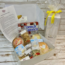 Load image into Gallery viewer, Deluxe Cheese Hamper with French Classic Cookbook by Chef, Sir Julien Bompard